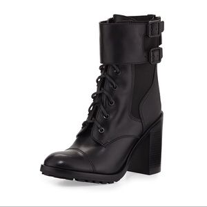 Tory Burch Shoes - Tory Burch Broome High Heel Combat Boots